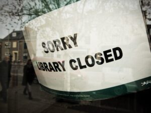 Sorry, Library Closed